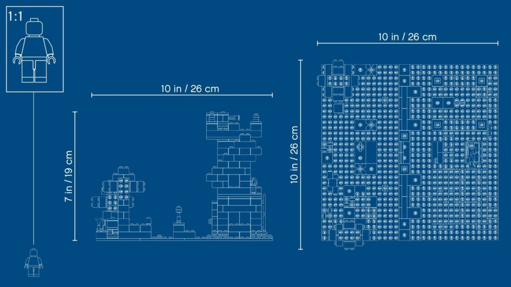 LEGO Minecraft 21161 Die Crafting-Box 3.0 | ©LEGO Gruppe