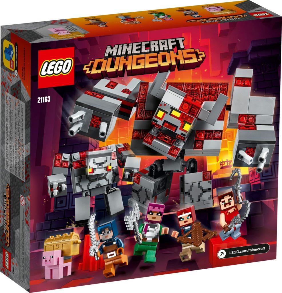 LEGO Minecraft 21163 Das Redstone-Kräftemessen | ©LEGO Gruppe