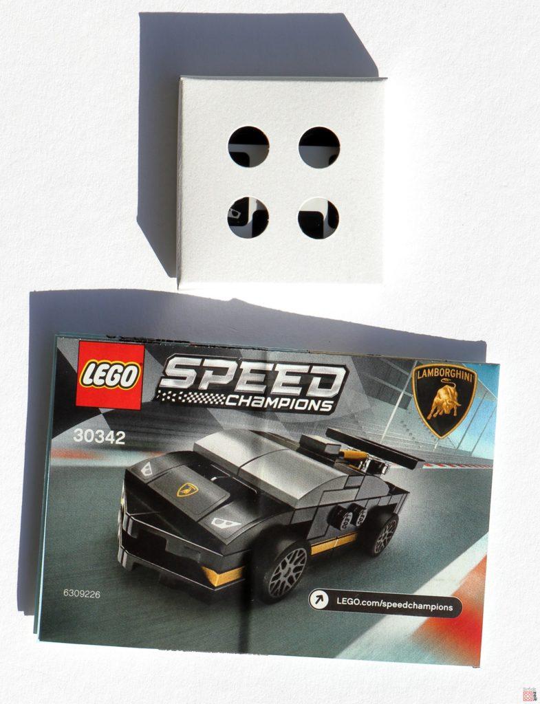 LEGO 30342 Anleitung und verpackte Aufkleber | ©2020 Brickzeit