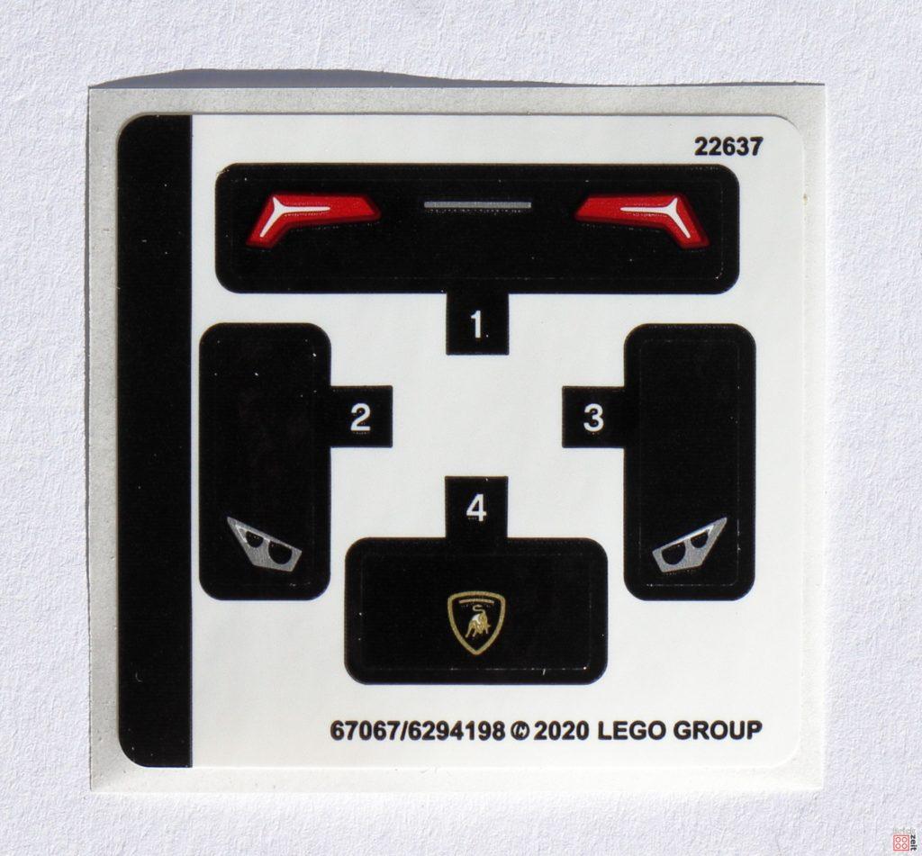 LEGO 30342 Aufkleber | ©2020 Brickzeit