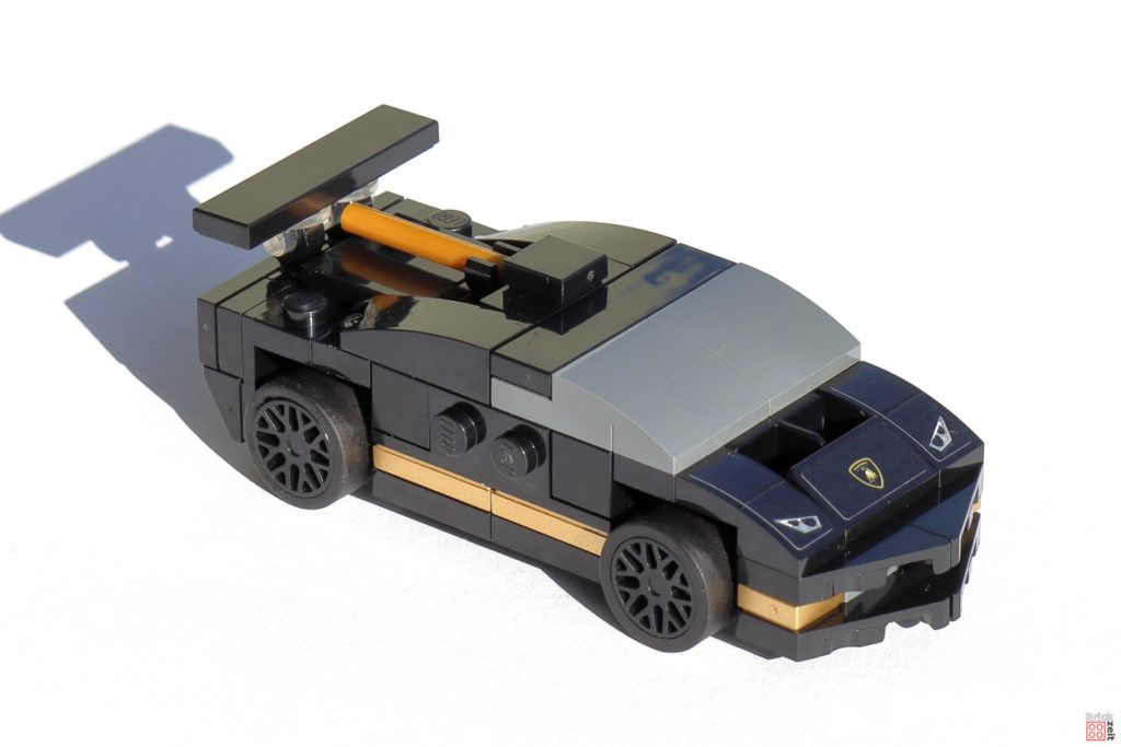 LEGO Speed Champions 30342 Lamborghini Huracán Super Trofeo EVO - Vorderseite | ©2020 Brickzeit