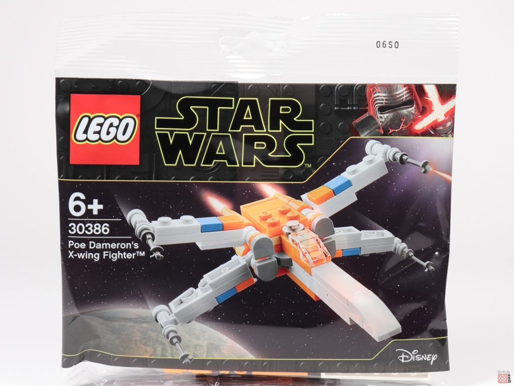 LEGO Star Wars 30386 Poe Dameron's X-Wing Fighter - Polybag | ©2020 Brickzeit