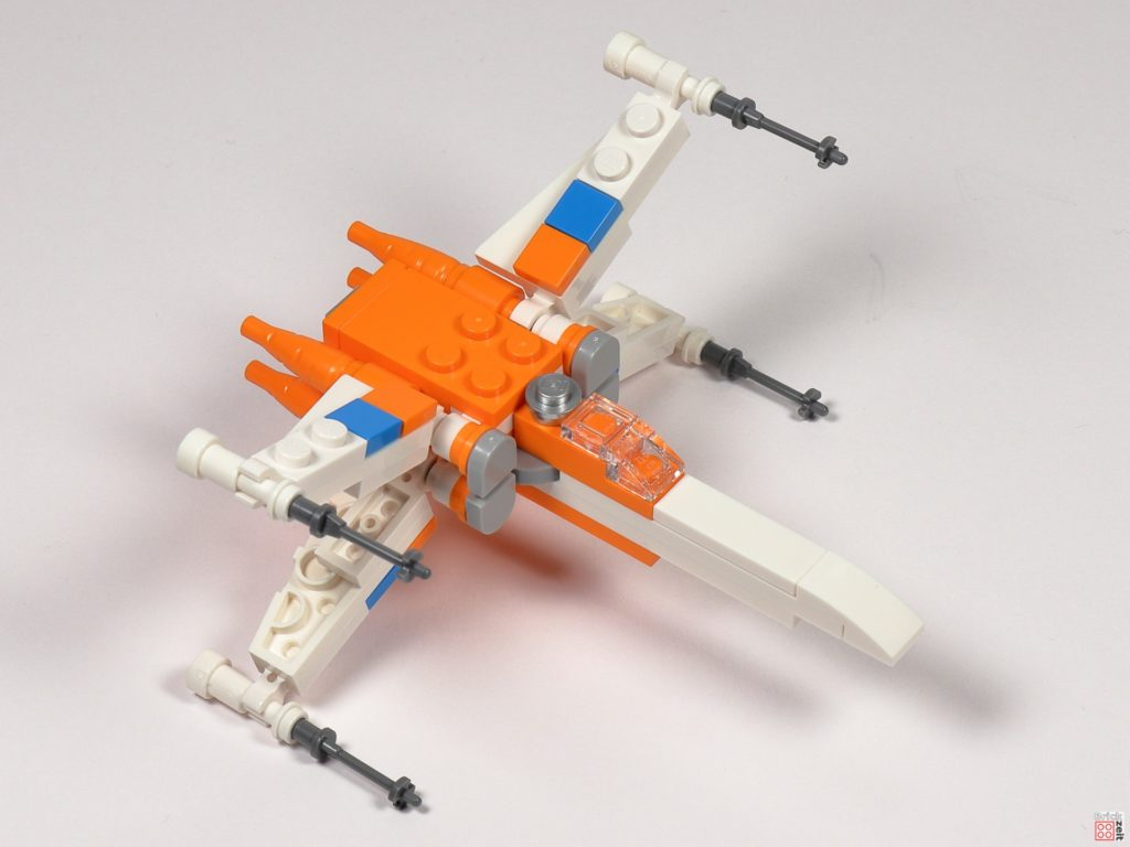 LEGO Star Wars 30386 Poe Dameron's X-Wing Fighter - Bau 15 | ©2020 Brickzeit