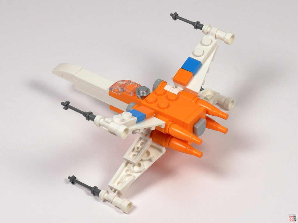 LEGO Star Wars 30386 Poe Dameron's X-Wing Fighter - Bau 16 | ©2020 Brickzeit