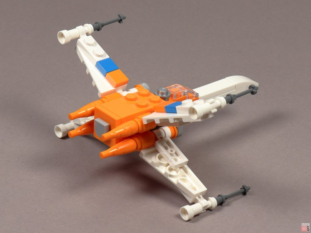 LEGO Star Wars 30386 Poe Dameron's X-Wing Fighter - Rückseite | ©2020 Brickzeit
