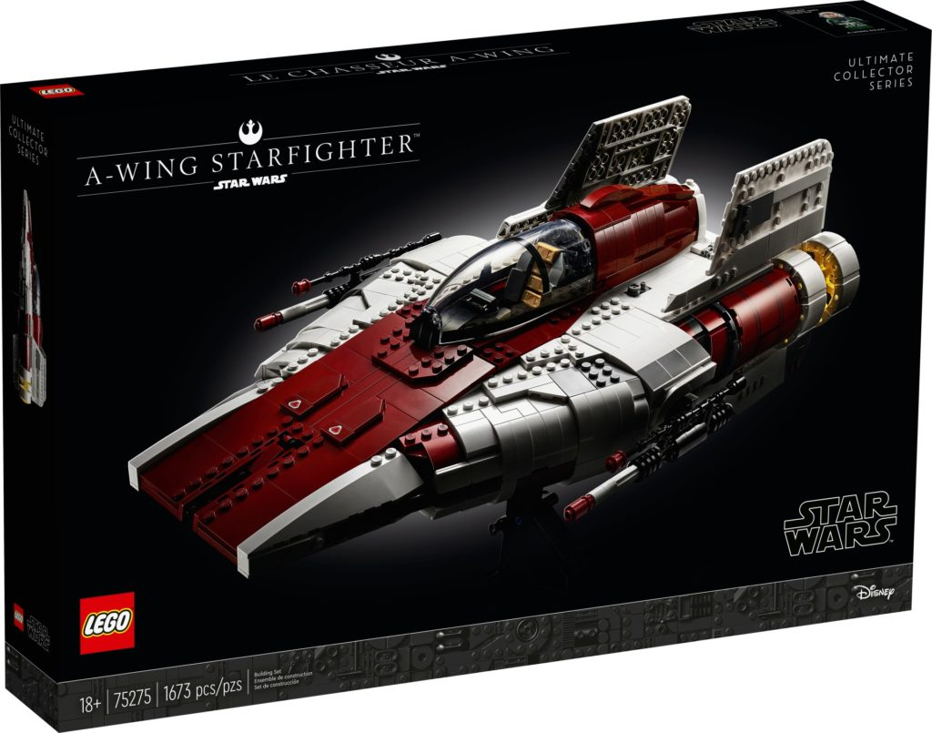 LEGO Star Wars 75275 UCS A-Wing - Packung, Vorderseite | ©LEGO Gruppe