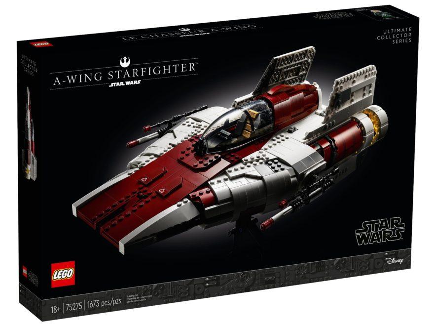 LEGO Star Wars 75275 UCS A-Wing - Titelbild | ©LEGO Gruppe