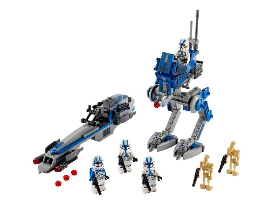LEGO® Star Wars™ 75280 Clone Troopers™ der 501. Legion | ©LEGO Gruppe