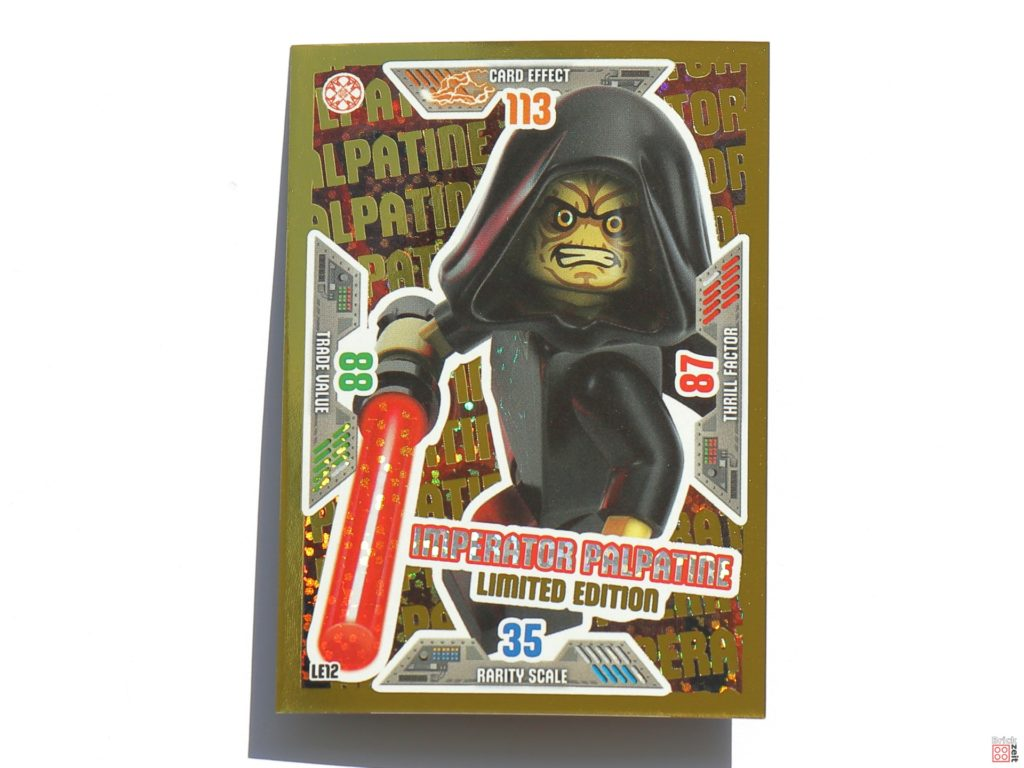 LEGO Star Wars Trading Card - Imperator Palpatine | ©Brickzeit