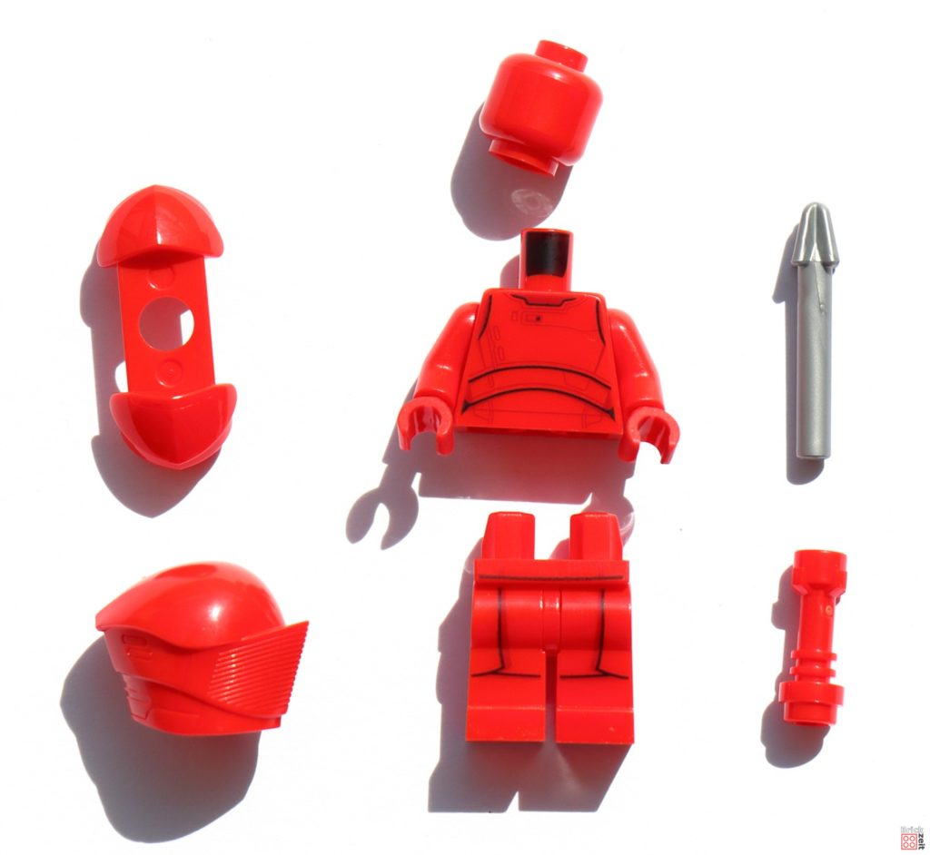 LEGO Star Wars Elite Praetorian Guard in Einzelteilen | ©Brickzeit