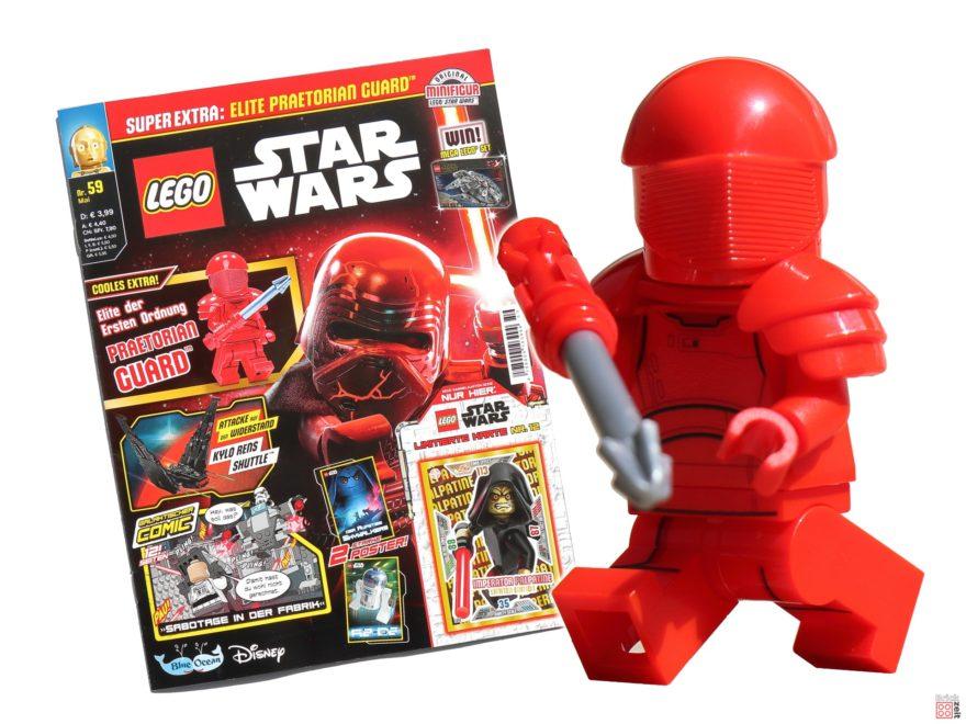LEGO Star Wars Magazin 59 (Mai 2020) mit Elite Praetorian Guard | ©Brickzeit
