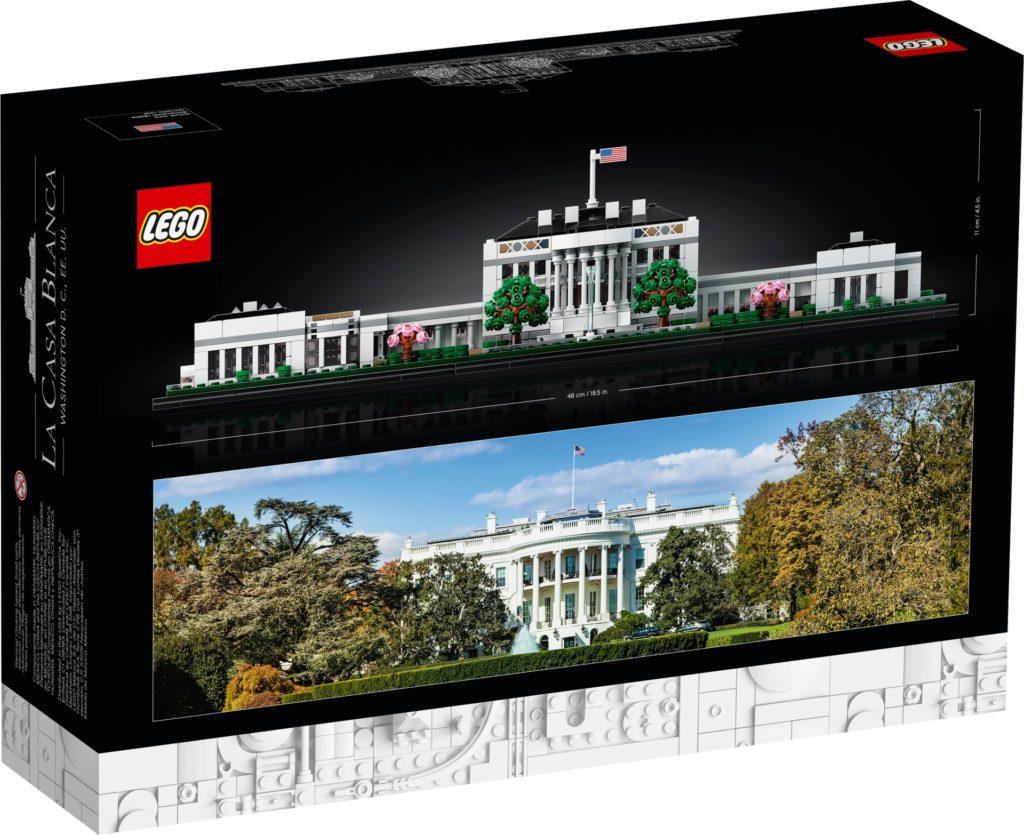LEGO Architecture 21054 Das Weiße Haus | ©LEGO Gruppe
