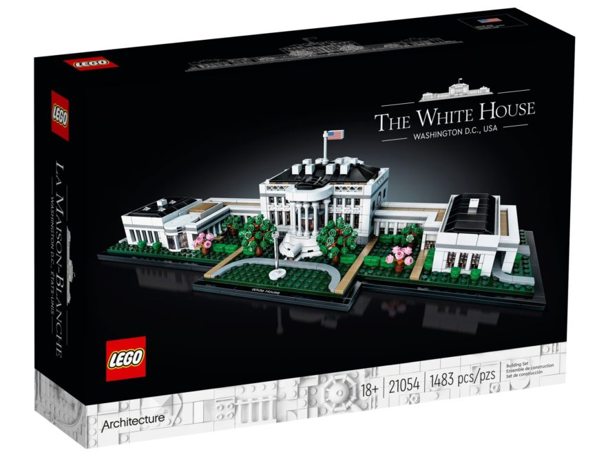 LEGO Architecture 21054 Das Weiße Haus ab 1. Juni 2020 verfügbar | ©LEGO Gruppe
