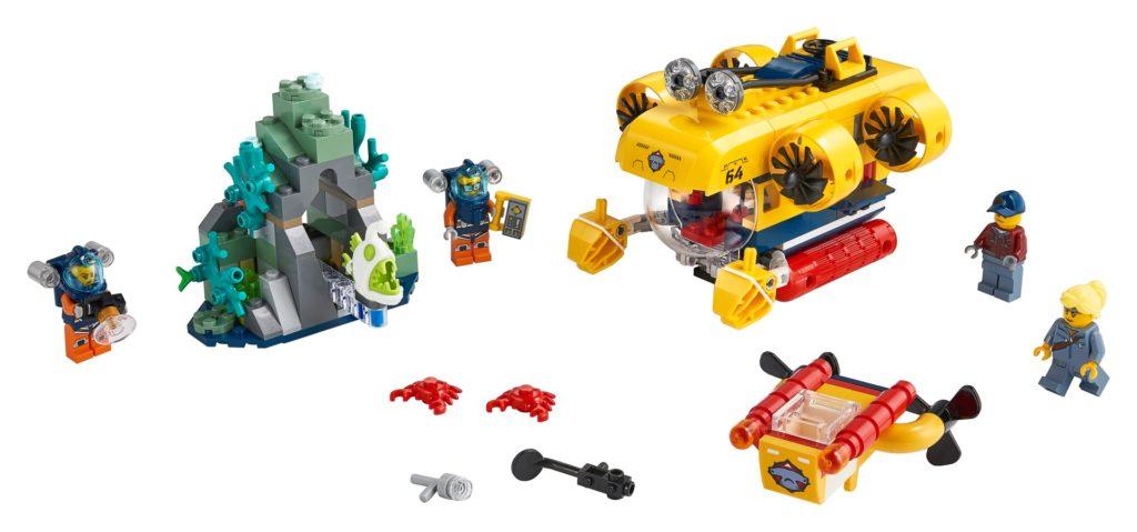 LEGO City 60264 Meeresforschungs-U-Boot | ©LEGO Gruppe