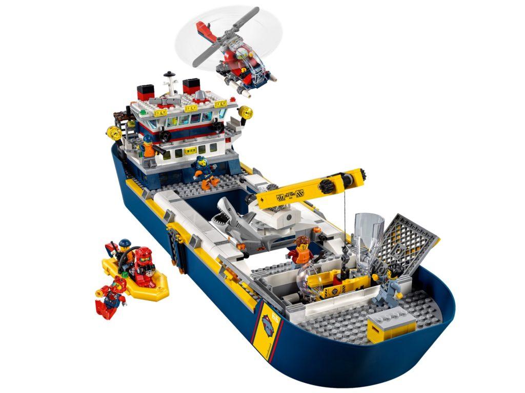 LEGO City 60266 Meeresforschungsschiff | ©LEGO Gruppe