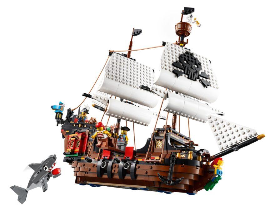 LEGO Creator 31109 Piratenschiff | ©LEGO Gruppe