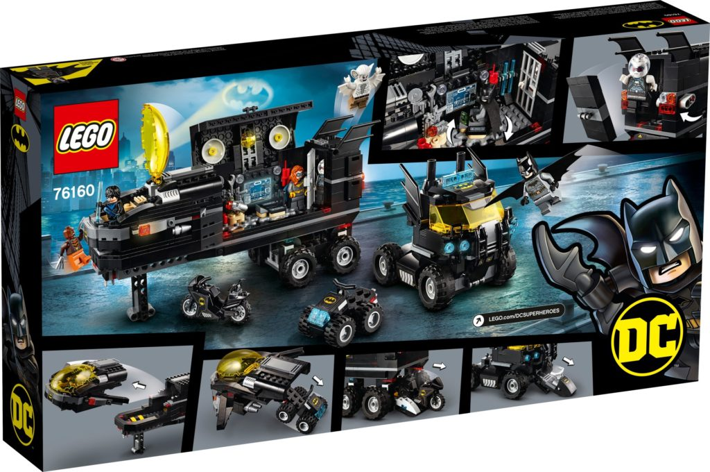 LEGO DC Super Heroes 76160 Mobile Batbasis | ©LEGO Gruppe