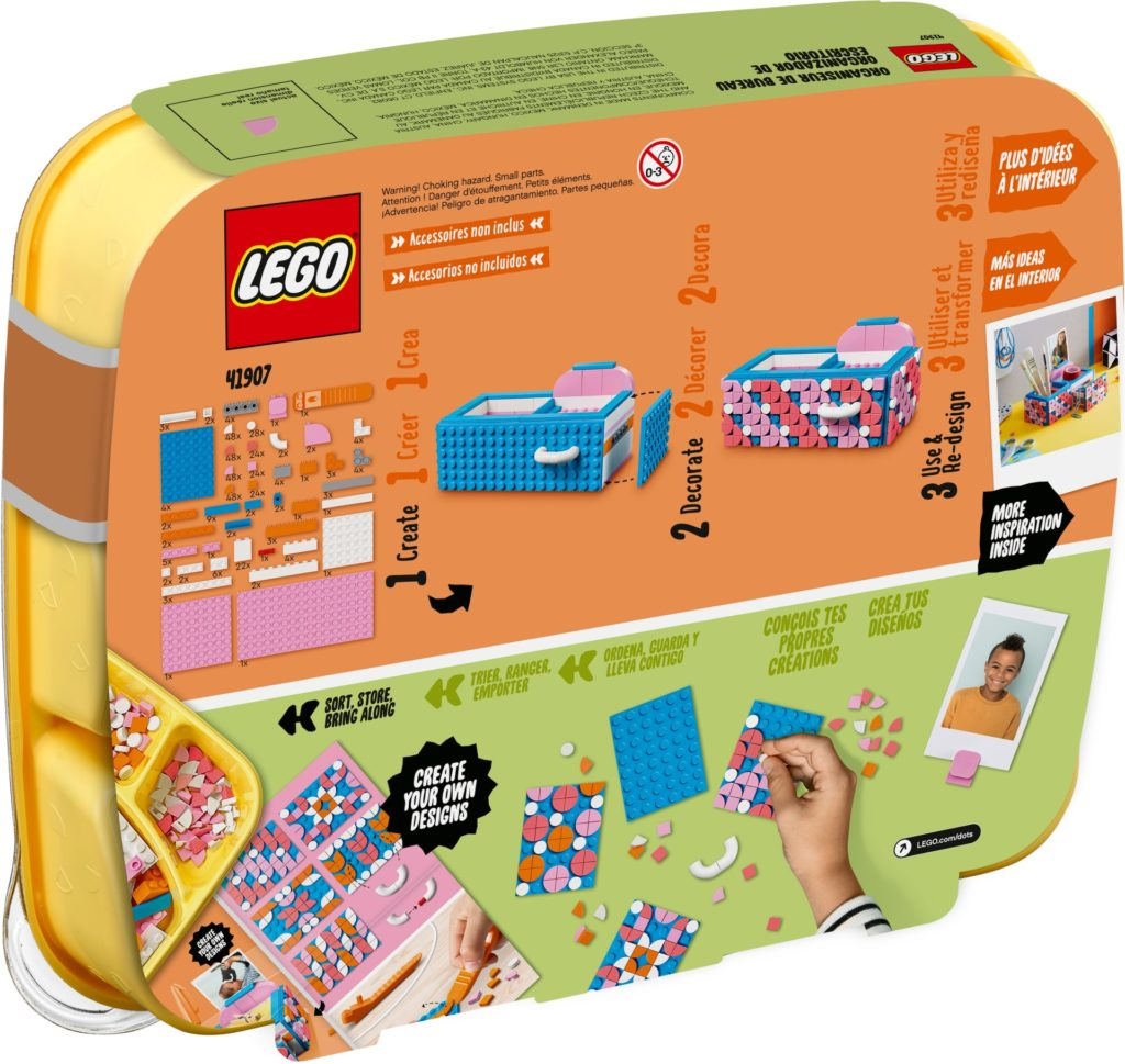 LEGO DOTS 41907 Stiftehalter mit Schublade | ©LEGO Gruppe