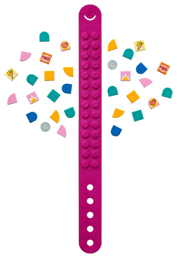 LEGO DOTS 41919 Superhelden Armband | ©LEGO Gruppe