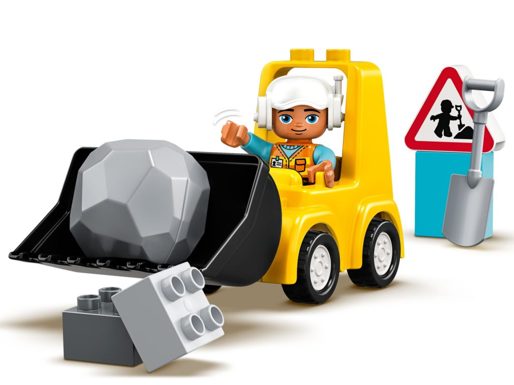 LEGO DUPLO 10930 Radlader | ©LEGO Gruppe