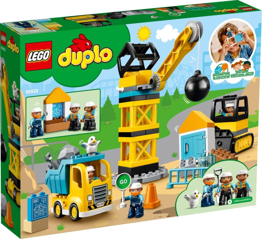 LEGO DUPLO 10932 Baustelle mit Abrissbirne | ©LEGO Gruppe