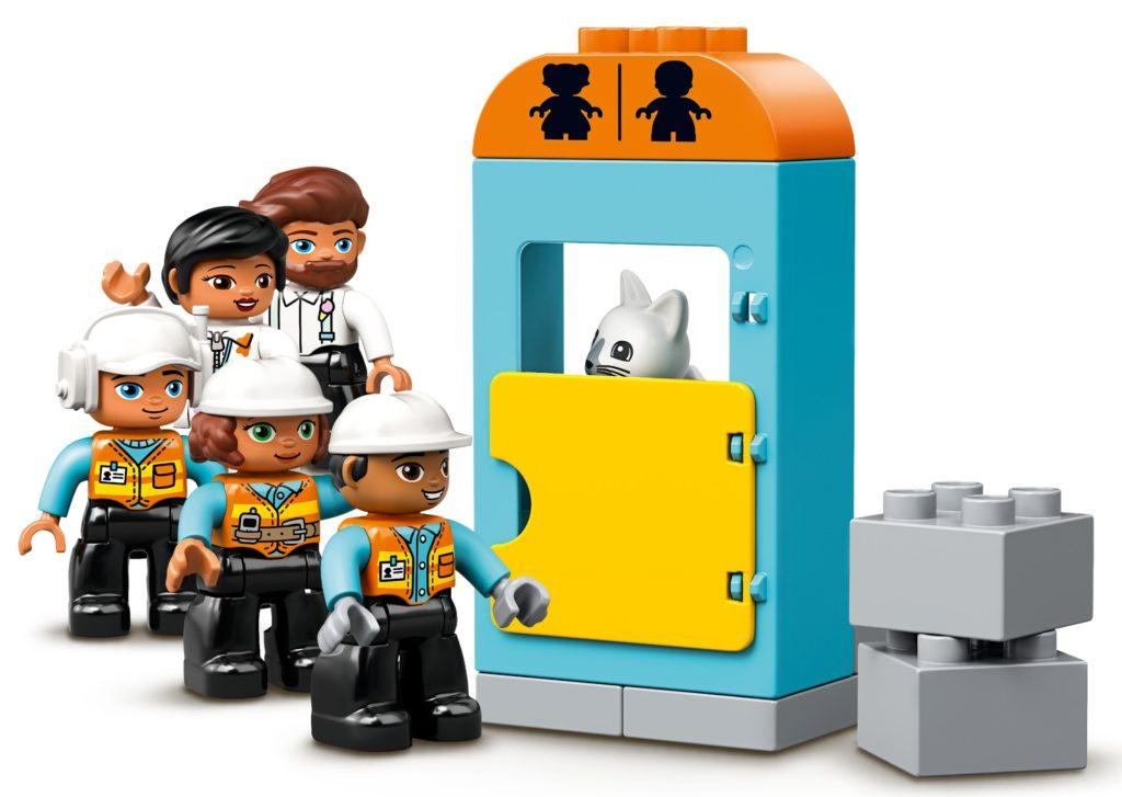 LEGO DUPLO 10933 Große Baustelle mit Licht und Ton | ©LEGO Gruppe