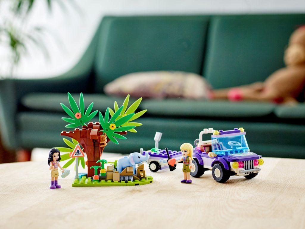 LEGO Friends 41421 Rettung des Elefantenbabys mit Transporter | ©LEGO Gruppe