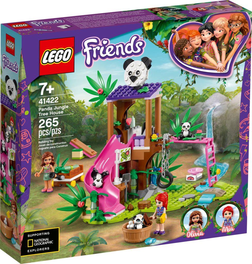 LEGO Friends 41422 Panda-Rettungsstation | ©LEGO Gruppe