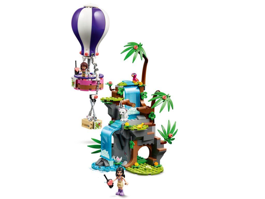 LEGO Friends 41423 Tiger-Rettung mit Heißluftballon | ©LEGO Gruppe