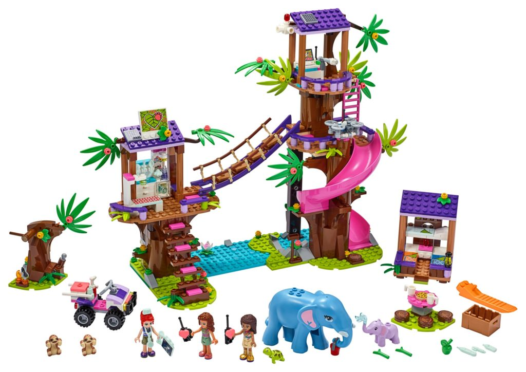 LEGO Friends 41424 Tierrettungsstation im Dschungel | ©LEGO Gruppe