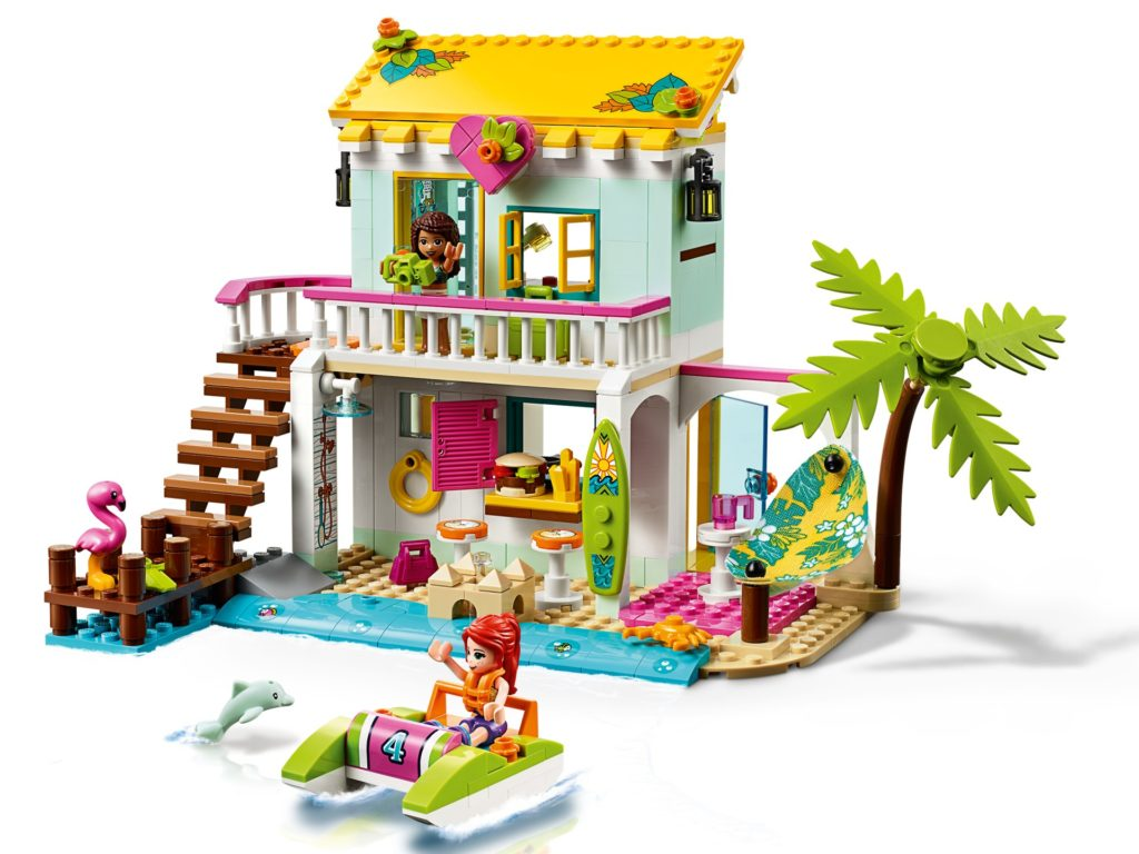 LEGO Friends 41428 Strandhaus mit Tretboot | ©LEGO Gruppe