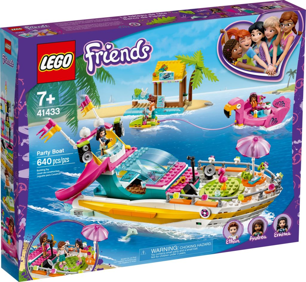 LEGO Friends 41433 Partyboot von Heartlake City | ©LEGO Gruppe