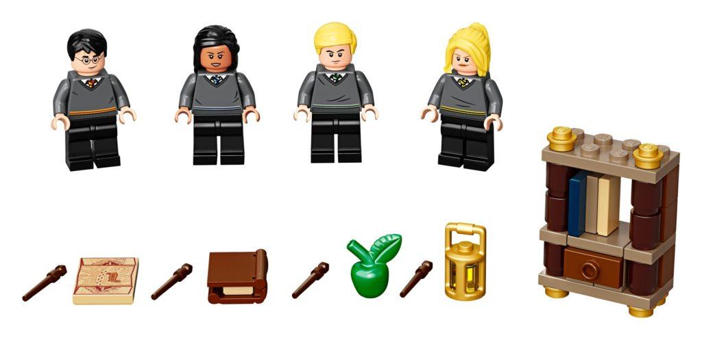 LEGO Harry Potter 40419 Die Schüler von Hogwarts™ Zubehörset | ©LEGO Gruppe