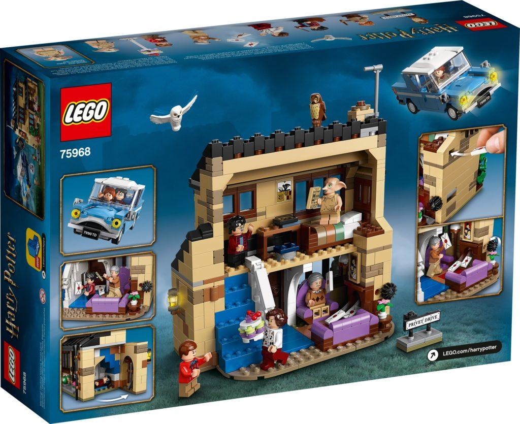 LEGO Harry Potter 75968 Ligusterweg 4 (4 Privet Drive) | ©LEGO Gruppe