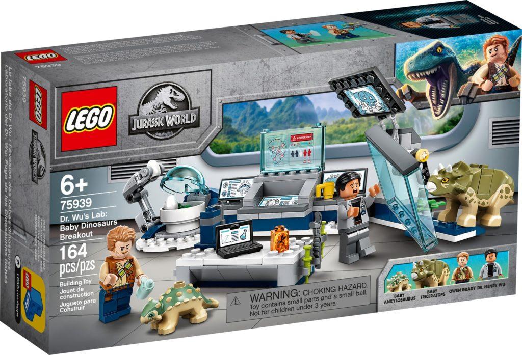 LEGO Jurassic World 75939 Dr. Wus Labor: Ausbruch der Baby-Dinosaurier | ©LEGO Gruppe
