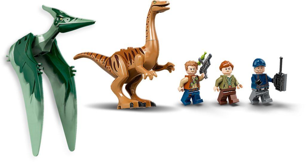 LEGO Jurassic World 75940 Ausbruch von Gallimimus und Pteranodon | ©LEGO Gruppe