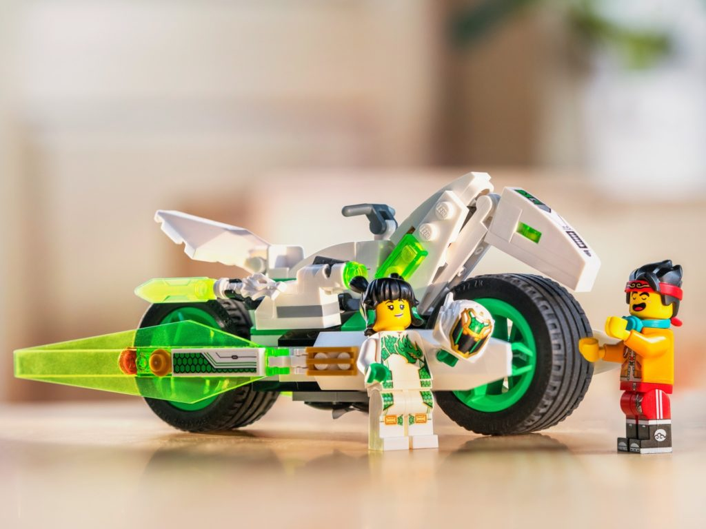 LEGO Monkie Kid 80006 White Dragon Horse Bike | ©LEGO Gruppe
