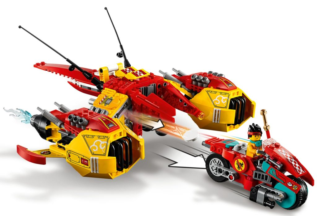 LEGO Monkie Kid 80008 Monkie Kid's Cloud Jet | ©LEGO Gruppe
