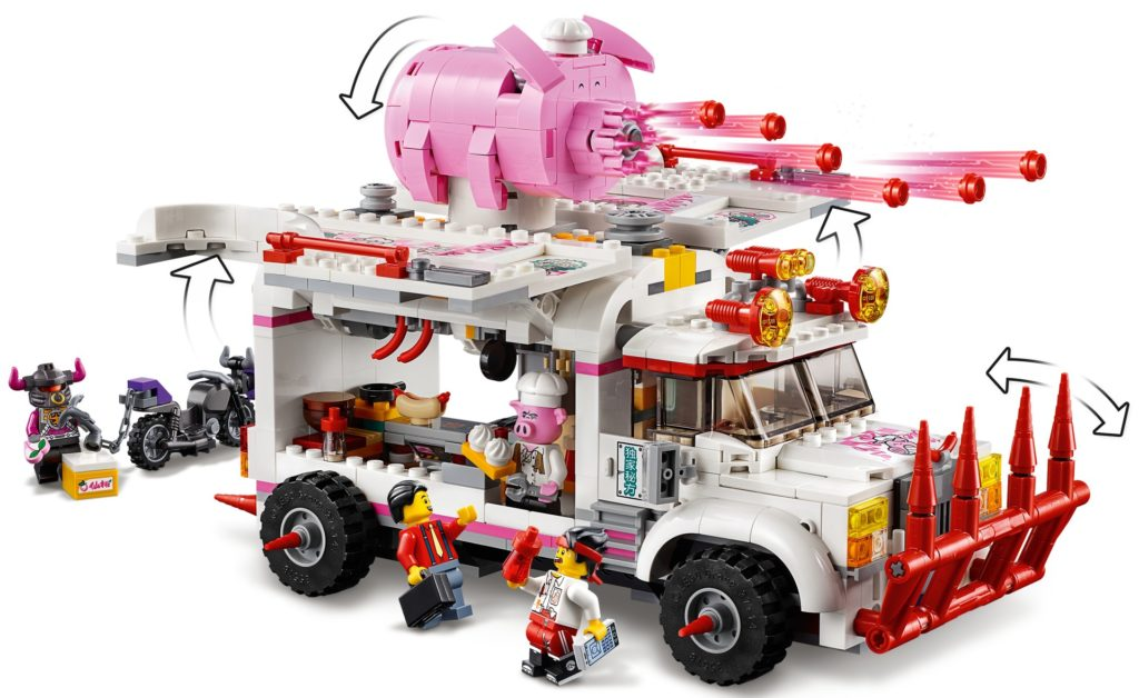 LEGO Monkie Kid 80009 Pigsy's Food Truck | ©LEGO Gruppe