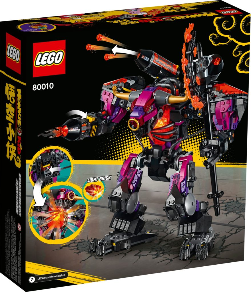 LEGO Monkie Kid 80010 Demon Bull King | ©LEGO Gruppe