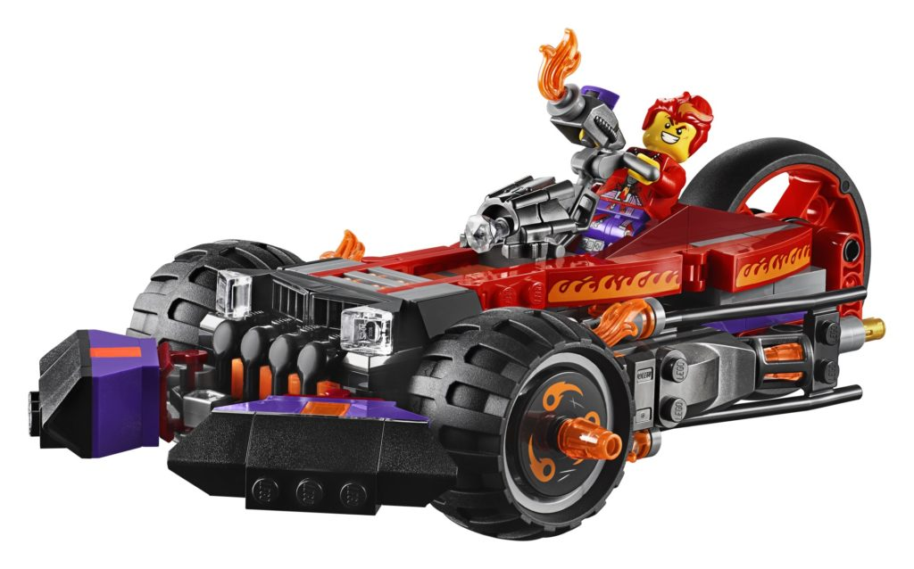 LEGO Monkie Kid 80011 Red Son's Inferno Truck | ©LEGO Gruppe