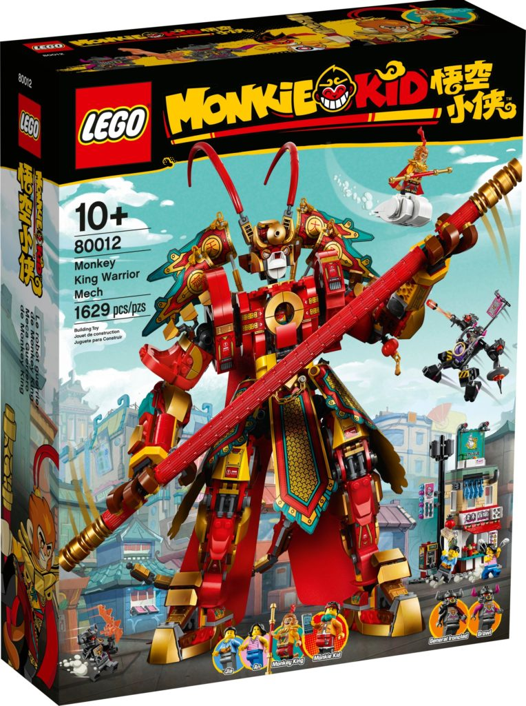 LEGO Monkie Kid 80012 Monkey King Warrior Mech | ©LEGO Gruppe