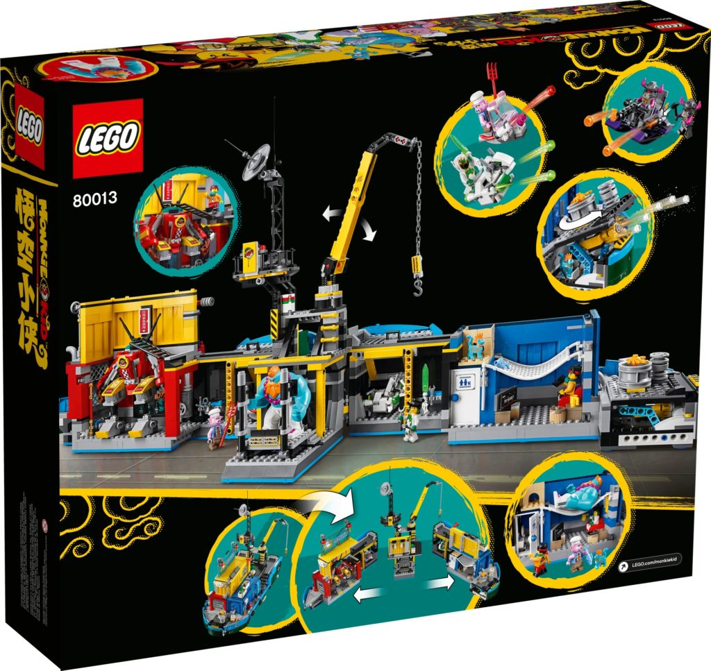 LEGO Monkie Kid 80013 Monkie Kid's Team Secret HQ | ©LEGO Gruppe