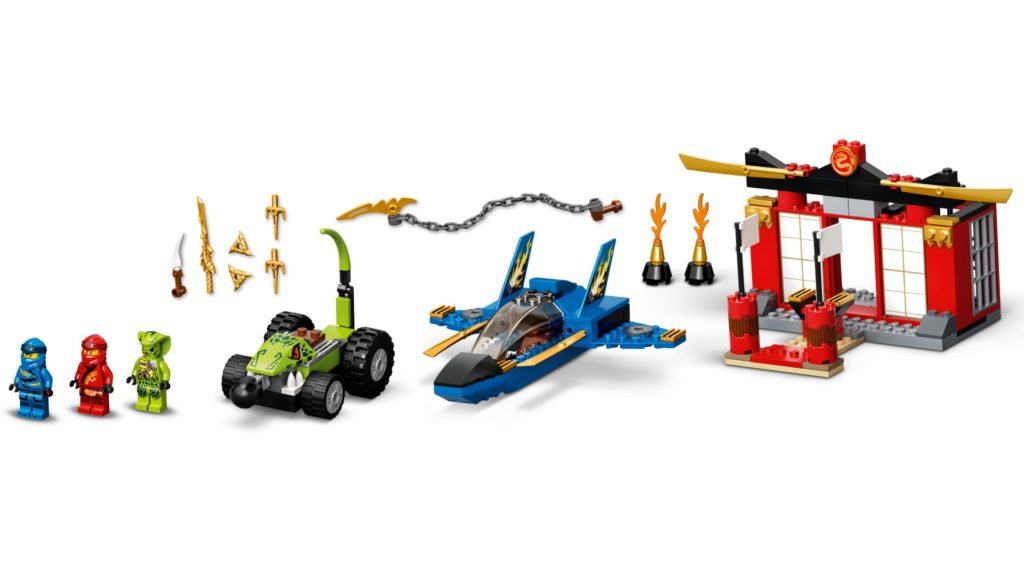 LEGO Ninjago 71703 Kräftemessen mit dem Donner-Jet | ©LEGO Gruppe