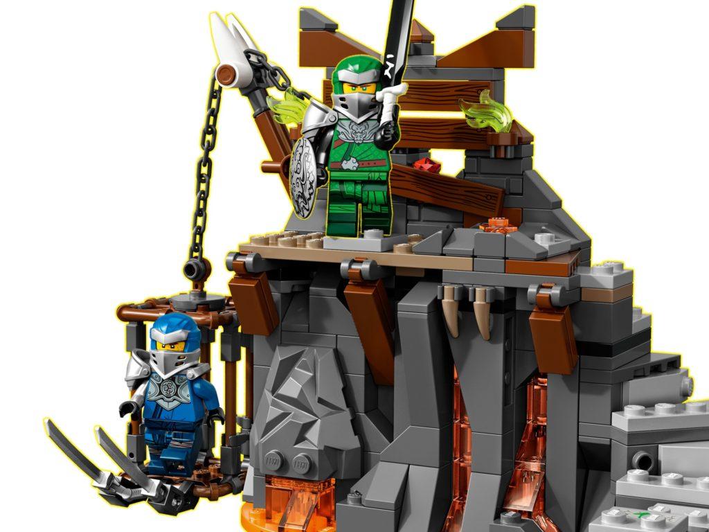 LEGO Ninjago 71717 Reise zu den Totenkopfverliesen | ©LEGO Gruppe