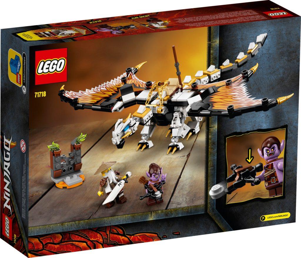 LEGO Ninjago 71718 Wus gefährlicher Drache | ©LEGO Gruppe