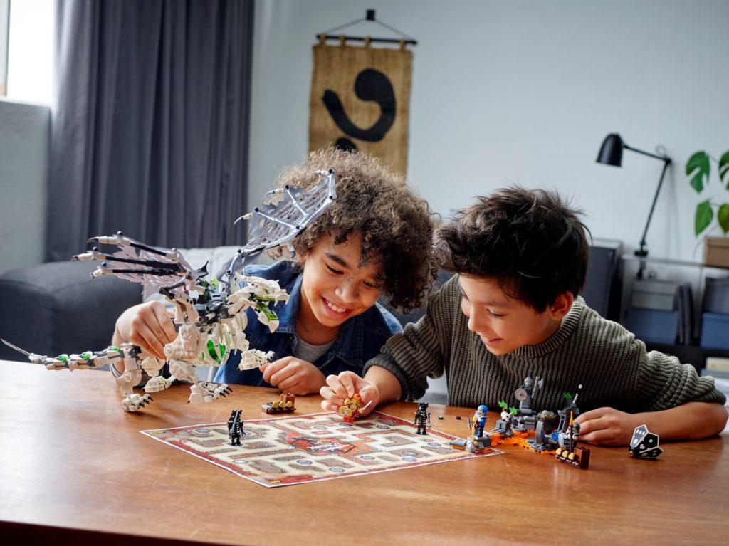 LEGO Ninjago 71721 Drache des Totenkopfmagiers | ©LEGO Gruppe