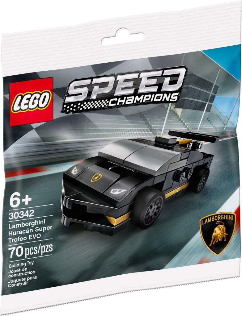 LEGO Speed Champions 30342 Lamborghini Huracán Super Trofeo EVO - Produktbild Polybag | ©LEGO Gruppe