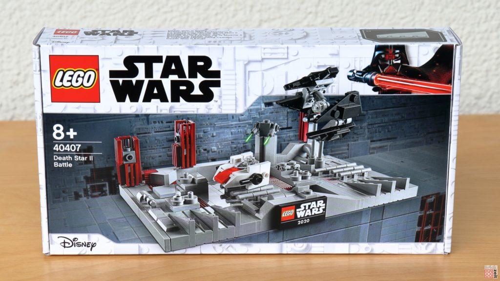 LEGO Star Wars 40407 Schlacht um den zweiten Todesstern - Packung, Vorderseite | ©2020 Brickzeit
