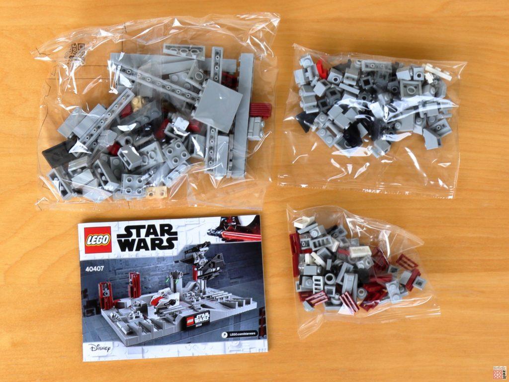 LEGO Star Wars 40407 Schlacht um den zweiten Todesstern - Inhalt | ©2020 Brickzeit